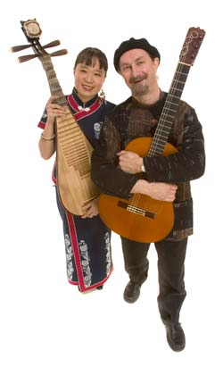 Qiu Xia He and Andre Thibault